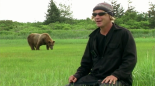 A still frame from Grizzly Man