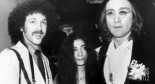 Photographer Bob Gruen with Yoko Ono and John Lennon, a still frame from trailer for Rock 'N Roll Exposed: Photography of Bob Gruen.